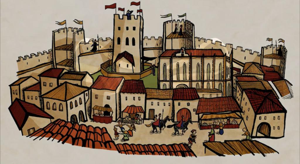 Montblanc, un poble feliç